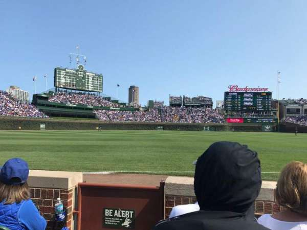 Wrigley Field, section: 7, row: 3, seat: 1
