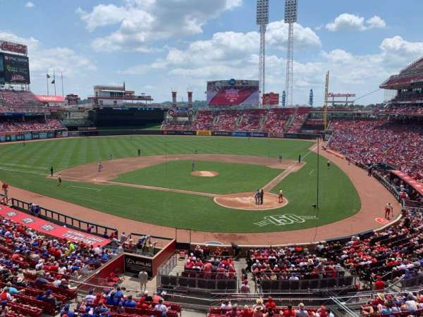 Great American Ball Park, section: 221, row: A, seat: 5