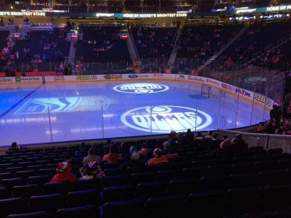 Rogers Place, section: 118, row: 15, seat: 12