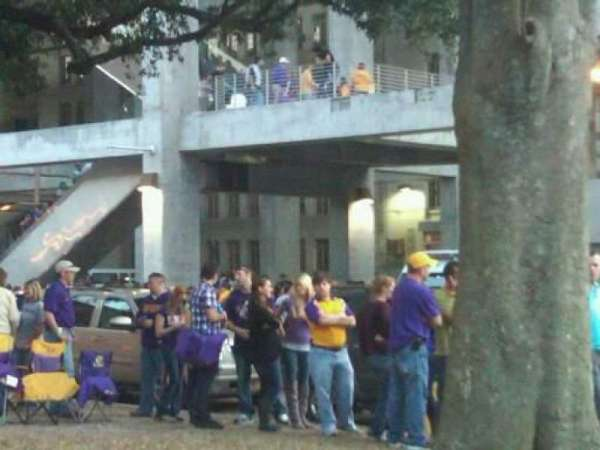 Tiger Stadium, section: Outside