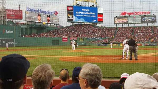 Fenway Park, section: Field Box 47, row: C, seat: 5