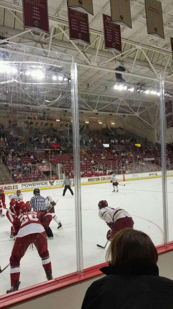 Conte Forum, section: O, row: 2, seat: 12