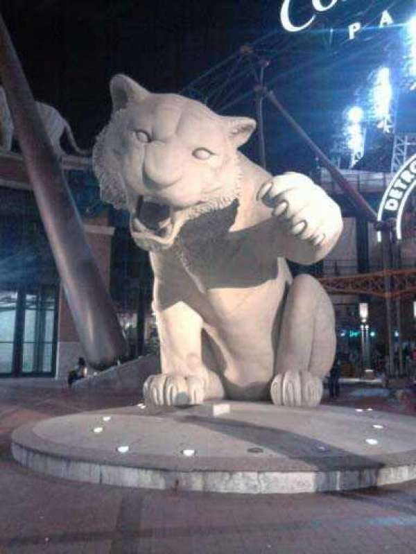 Comerica Park, section: out front