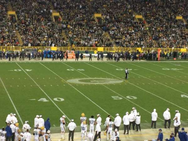 Lambeau Field, section: 116, row: 35, seat: 1,2,34