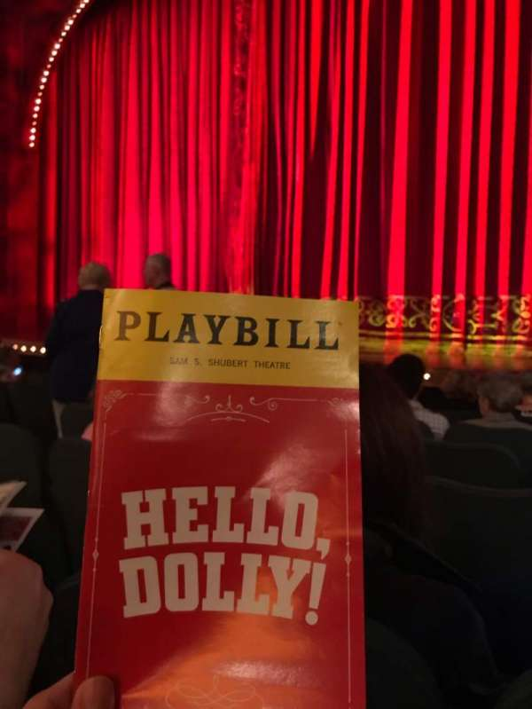Shubert Theatre, section: Orchestra R, row: G, seat: 12