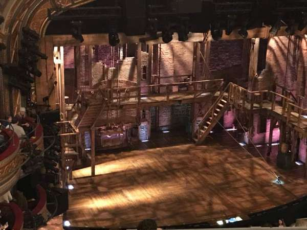 Richard Rodgers Theatre, section: Rear Mezzanine L, row: K, seat: 25