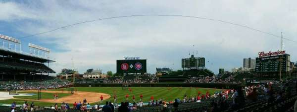 Wrigley Field, section: 126, row: 14, seat: 13
