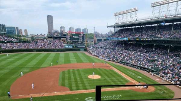 Wrigley Field, section: 310L, row: 2, seat: 1