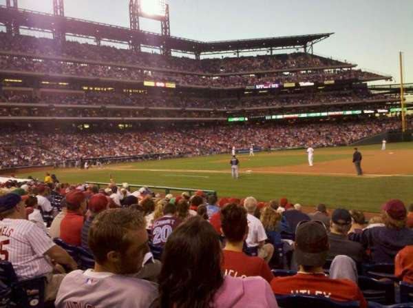 Citizens Bank Park, section: 113, row: 11, seat: 10