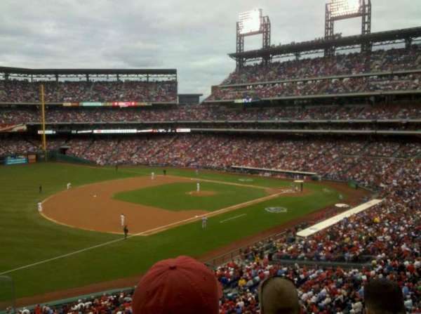 Citizens Bank Park, section: 233, row: 3, seat: 9
