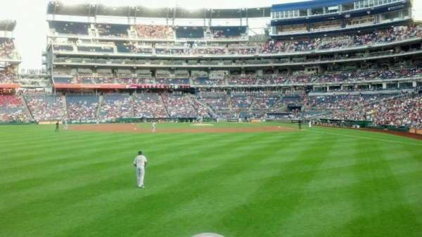 Nationals Park, section: 103, row: B, seat: 7