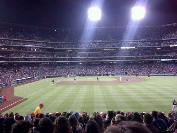 Citizens Bank Park, section: 105, row: 15, seat: 14