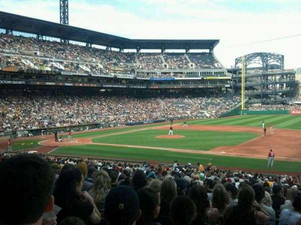 PNC Park, section: 108, row: W, seat: 17