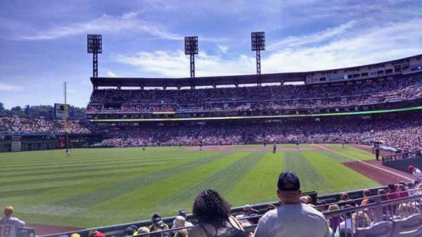 PNC Park, section: 134