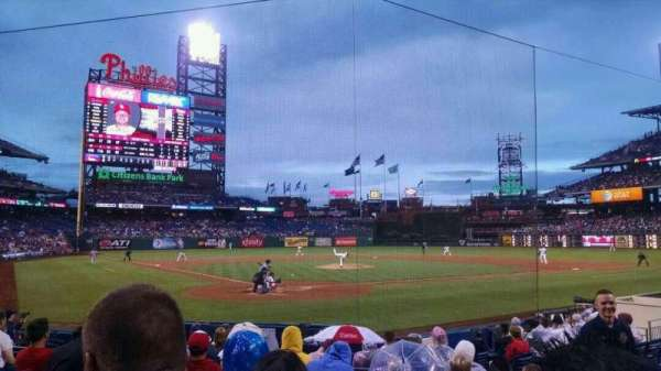 Citizens Bank Park, section: E, row: 12, seat: 6
