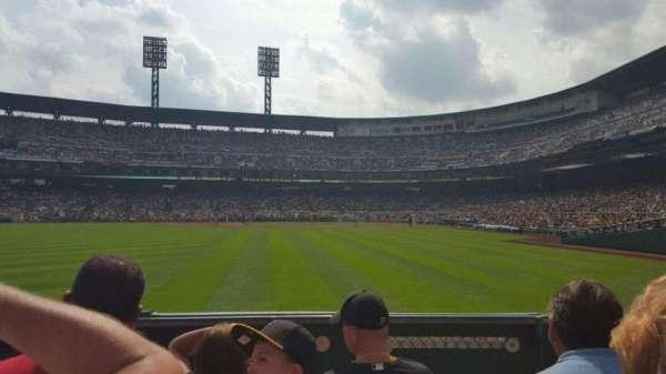 PNC Park, section: 135, row: D, seat: 17