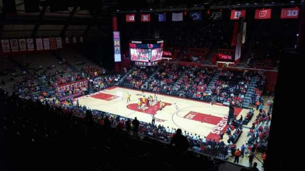 Rutgers Athletic Center, section: 217, row: S, seat: 4
