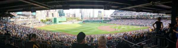 PNC Park, section: 128