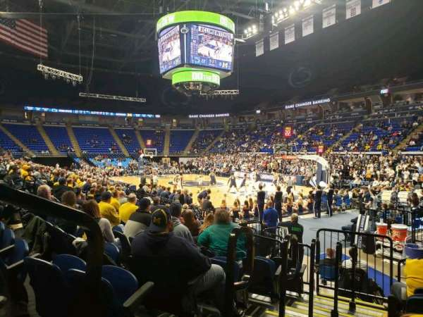 Bryce Jordan Center, section: 101, row: AA, seat: 109
