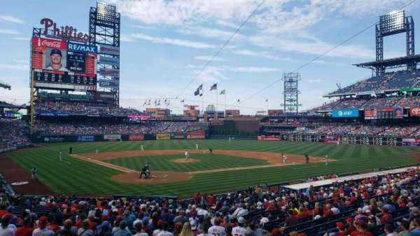 Citizens Bank Park, section: 122, row: 27, seat: 10
