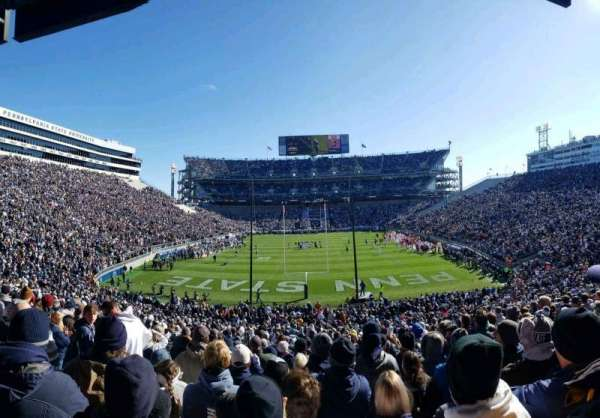 Beaver Stadium, section: NF, row: 43, seat: 9
