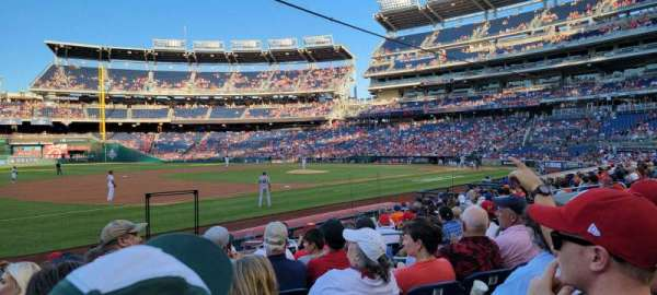 Nationals Park, section: 113, row: P, seat: 8