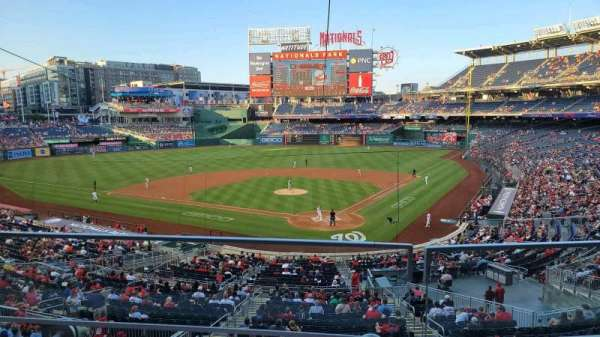 Nationals Park, section: 212, row: B, seat: 9