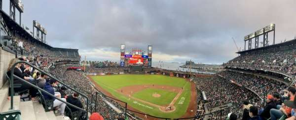 Oracle Park, section: VB318, row: C, seat: 3