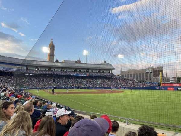 Sahlen Field, section: 124, row: H, seat: 6