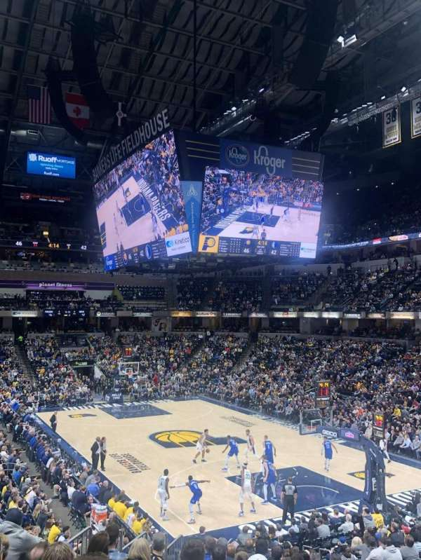 Bankers Life Fieldhouse, section: 2, row: 22, seat: 14