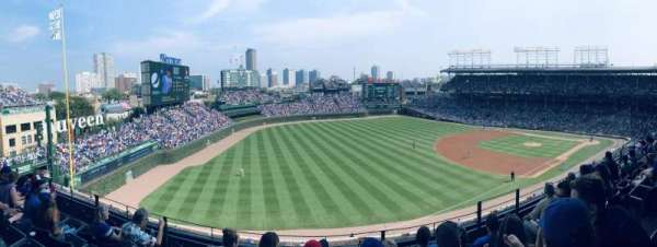 Wrigley Field, section: 305L, row: 5, seat: 18