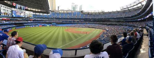 Rogers Centre, section: 237R, row: 2, seat: 7