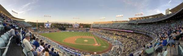 Dodger Stadium, section: 11RS, row: E, seat: 12
