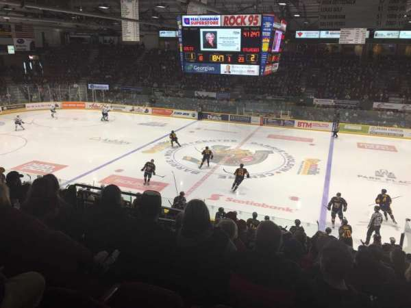 Barrie Molson Centre, section: 114, row: 17, seat: 6