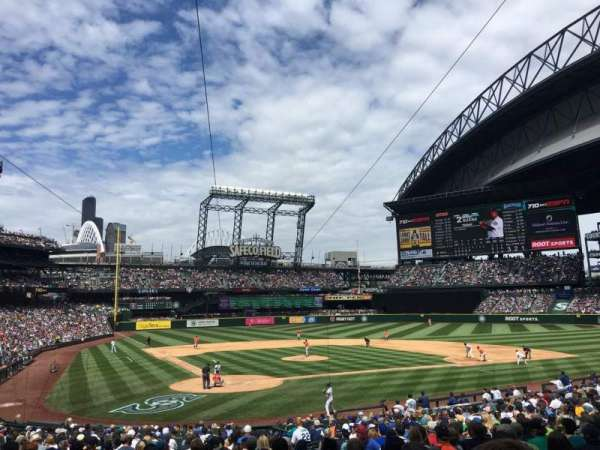 Safeco Field, section: 127, row: 29, seat: 4
