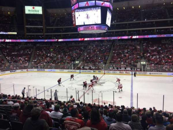 Gila River Arena, section: 111, row: S, seat: 5