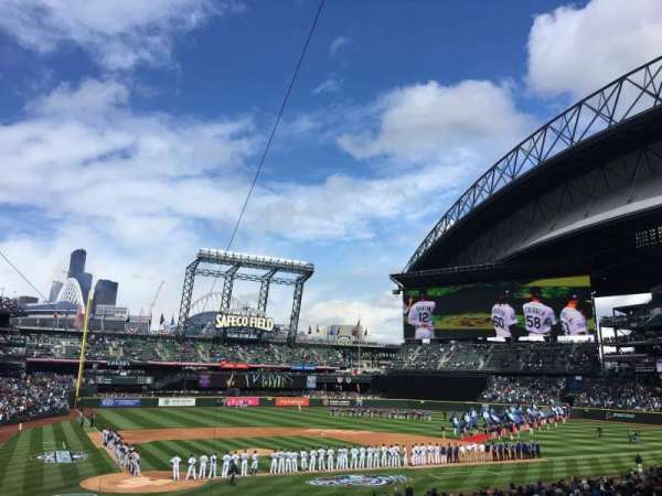 Safeco Field, section: 126, row: 33, seat: 11