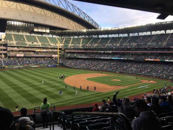 Safeco Field, section: 245, row: 11, seat: 1