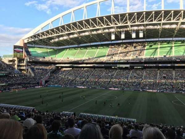 CenturyLink Field, section: C233, row: J, seat: 12