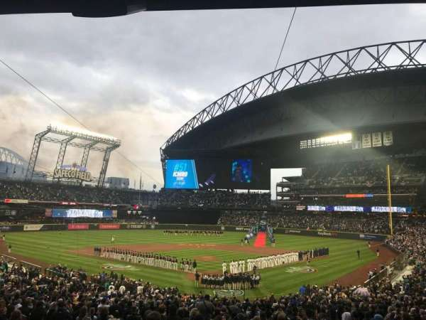 Safeco Field, section: 131, row: 38, seat: 12