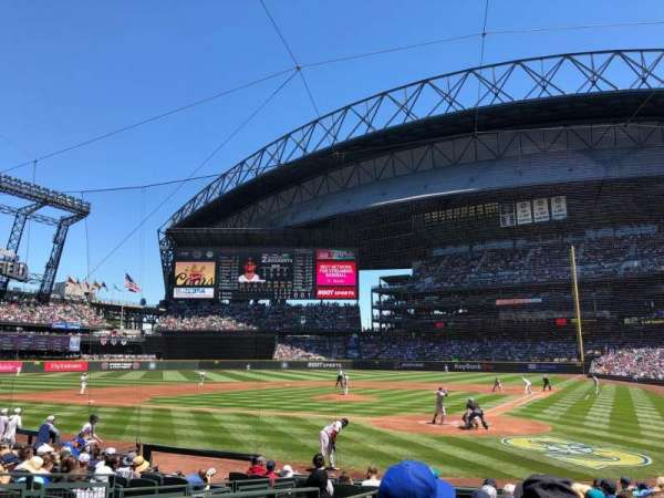 Safeco Field, section: 132, row: 14, seat: 19