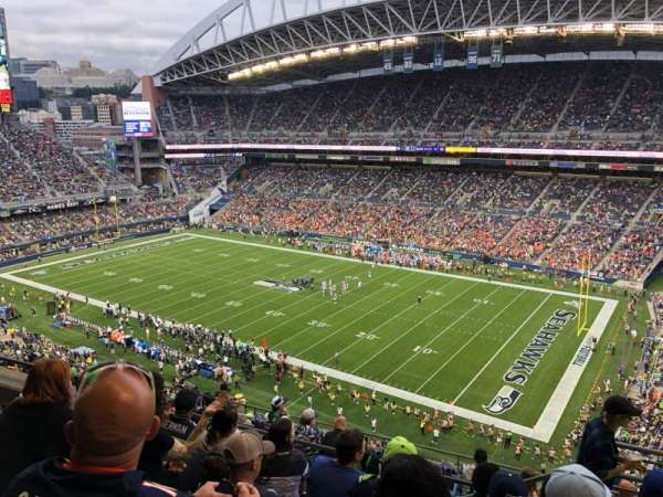 CenturyLink Field, section: 330, row: K, seat: 3