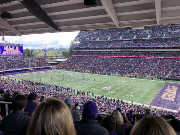 Husky Stadium, section: 225, row: 11, seat: 19