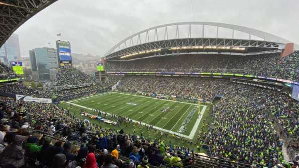 CenturyLink Field, section: 330, row: K, seat: 2