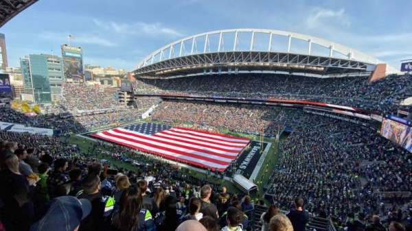CenturyLink Field, section: 339, row: K, seat: 2