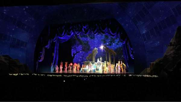 Radio City Music Hall, section: Orchestra 2, row: S, seat: 206