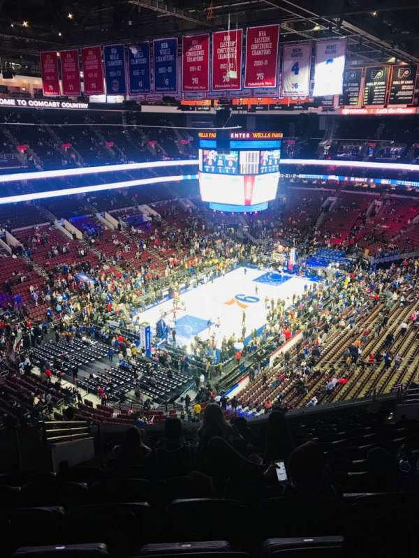 Wells Fargo Center, section: 209A, row: 13, seat: 5