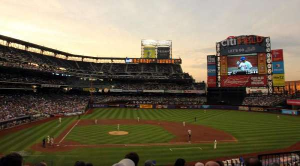 Citi Field, section: 115, row: 7, seat: 5