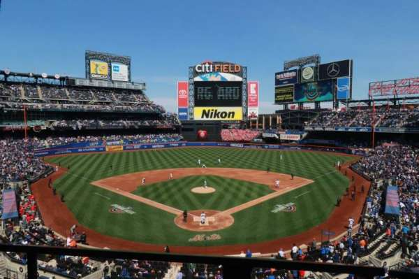 Citi Field, section: 319, row: 1, seat: 8