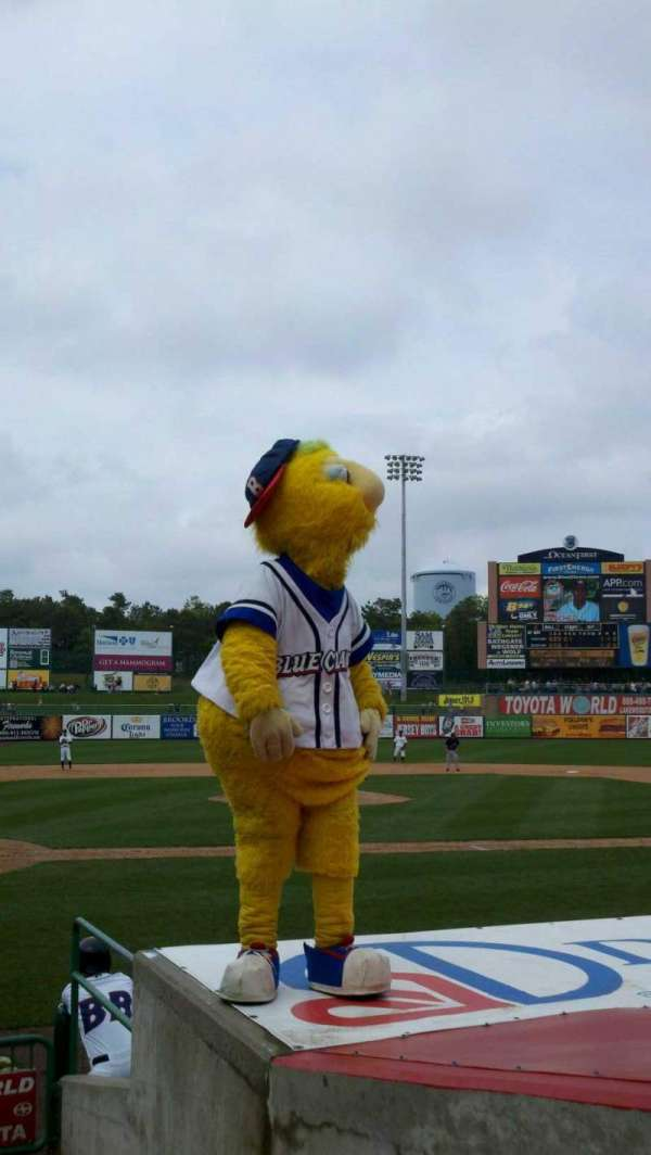 FirstEnergy Park, section: 106, row: 9, seat: 1